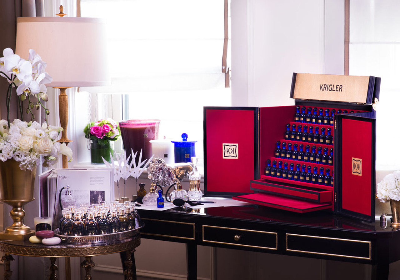 Inscentives: Create your custom fragrance with Krigler